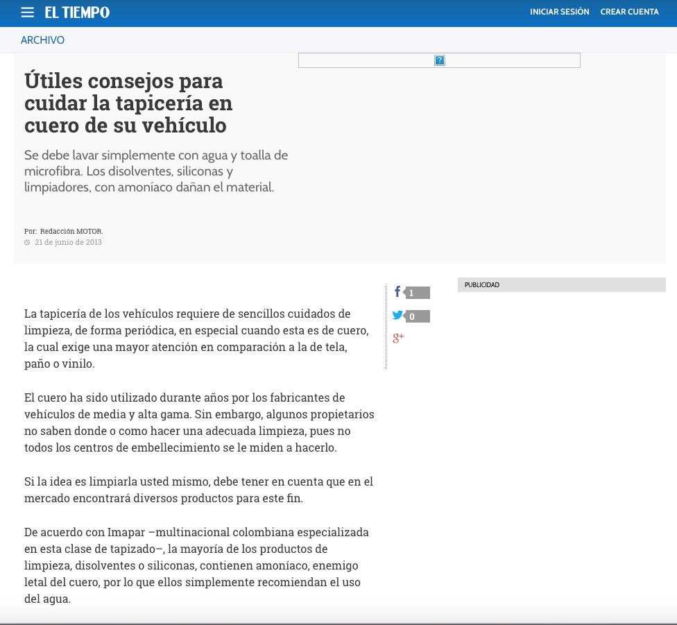 Warranties And Care Imapar Ltda Tapicer A En Cuero Para Autos ~ Limpiar Tapicerias Con Amoniaco